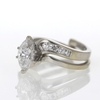.97 ct. Marquise Cut Bridal Set Ring #2