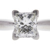 0.8 ct. Princess Cut Solitaire Ring, I, SI1 #4