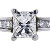1.03 ct. Princess Cut Solitaire Ring, G, VS1 #4