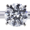 1.04 ct. Round Cut Solitaire Ring, E, SI2 #4