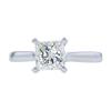 1.51 ct. Princess Cut Solitaire Ring, L, VS2 #3