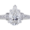2.48 ct. Pear Cut Solitaire Ring #1
