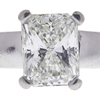 1.54 ct. Radiant Cut Bridal Set Ring, H, VVS2 #4