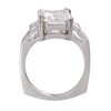 4.45 ct. Radiant Cut Solitaire Ring, E, VS2 #4