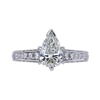 1.21 ct. Pear Cut Solitaire Ring, I, SI2 #3