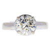 2.09 ct. Round Cut Solitaire Ring, L, I2 #3