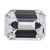 1.22 ct. Emerald Cut Bridal Set Ring #4