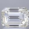 2.0 ct. Emerald Cut Bridal Set Ring, K, VS1 #1