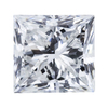 1.03 ct. Princess Cut Solitaire Ring, G, SI1 #1