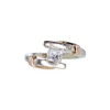 0.77 ct. Princess Cut Solitaire Ring, G, VS1 #2