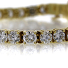 Round Cut Tennis Bracelet #2