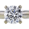 1.00 ct. Round Cut Bridal Set Ring, H, SI1 #4