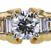 1.22 ct. Round Cut Solitaire Ring, H, I1 #4