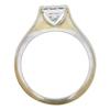 0.94 ct. Princess Cut Solitaire Ring, H-I, VVS1-VVS2 #3