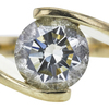.98 ct. Round Cut Solitaire Ring, K-L, VS2-SI1 #1