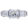 1.51 ct. Radiant Cut Solitaire Ring, F, VS2 #3