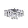 1.04 ct. Emerald Cut Ring, I, VVS2 #3