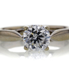 1.10 ct. Octagonal Cut Solitaire Ring #2