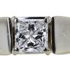 1.21 ct. Princess Cut Bridal Set Ring, E, SI2 #4