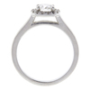 0.8 ct. Round Cut Halo Ring, G, VS2 #4