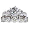 1.43 ct. Round Cut Bridal Set Ring, H-I, I2 #1