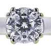 1.57 ct. Round Modified Brilliant Cut Solitaire Ring, E, I1 #1