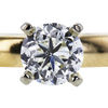 1.00 ct. Round Cut Bridal Set Ring, I, SI2 #4