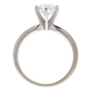 1.03 ct. Round Cut Solitaire Ring, F, SI1 #4