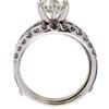 1.55 ct. Round Cut Bridal Set Ring #4