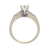 0.7 ct. Round Cut Bridal Set Ring, K, SI2 #4