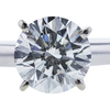 1.50 ct. Round Cut Solitaire Ring, I, SI2 #1