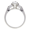 0.72 ct. Marquise Cut 3 Stone Ring, F-G, VS1 #2