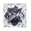 1.52 ct. Princess Cut Halo Ring, D, SI2 #4