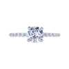 0.95 ct. Round Cut Solitaire Ring, E-F, I1 #2