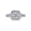 1.20 ct. Cushion Cut Halo Ring, H, I1 #4