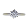 1.00 ct. Round Cut Solitaire Ring, D, SI1 #4