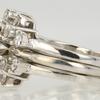 0.98 ct. Round Cut Bridal Set Ring #2