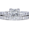 1.00 ct. Radiant Cut Bridal Set Ring #3