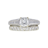 1.05 ct. Radiant Cut Bridal Set Ring, I, VS1 #3