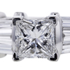 1.01 ct. Princess Cut Bridal Set Ring #4