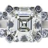 2.02 ct. Asscher Cut Solitaire Ring, M, VVS1 #4