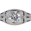 1.19 ct. Round Cut Halo Ring #1