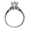 1.12 ct. Round Cut Solitaire Ring #4