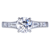 0.90 ct. Round Cut Solitaire Ring, G, VS1 #3