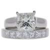 2.08 ct. Princess Cut Bridal Set Ring, I, VS2 #3