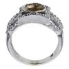 1.63 ct. Round Cut Halo Ring, I, VS1 #4