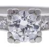 0.72 ct. Round Cut Bridal Set Ring, H-I, VS2-SI1 #1
