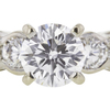 1.23 ct. Round Cut Bridal Set Ring, D, SI1 #4