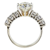 2.00 ct. Round Cut Solitaire Ring, K, VS2 #2