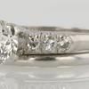 1.03 ct. European Cut Bridal Set Ring #2